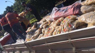 San Roque González fue beneficiado con más de 15 mil kilos de alimentos