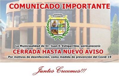 Cierran Municipalidad de Campo 9