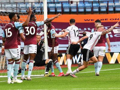 El fútbol inglés retorna con una gran polémica en Villa Park