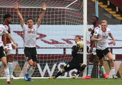Incredulidad ante el gol fantasma del Sheffield United