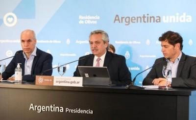 Presidente argentino entró en aislamiento preventivo ante Covid-19