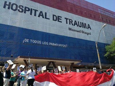 Funcionarios del Hospital del Trauma se manifestarán reclamando recategorización salarial