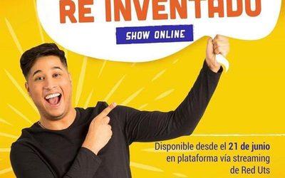 """""""Re-Inventado"""" el nuevo show de Manni Delvalle"""