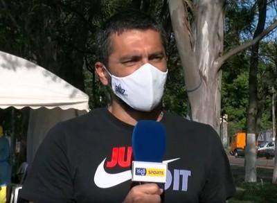 Santiago Salcedo celebra la cercanía del regreso del fútbol