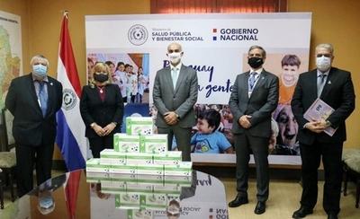 HOY / Salud Recibe Donación estratégica para lucha contra el COVID-19