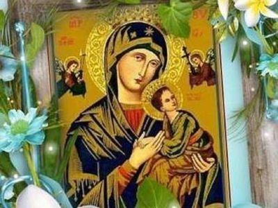 Novenario, misas y procesión para la festividad del Perpetuo Socorro