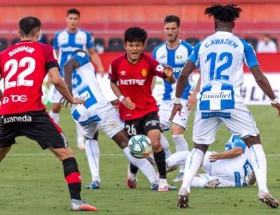 Un empate infructuoso entre Mallorca y Leganés