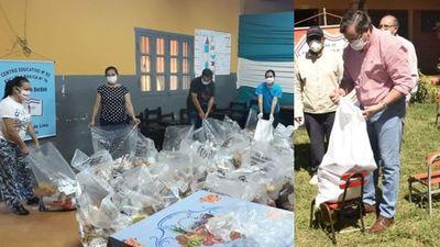 El lunes empezará distribución de kits de alimentos de la Gobernación