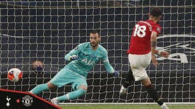 El United resiste la embestida del Tottenham
