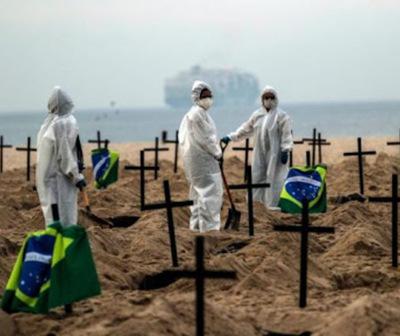 Brasil llegó al millón de infectados por Covid-19