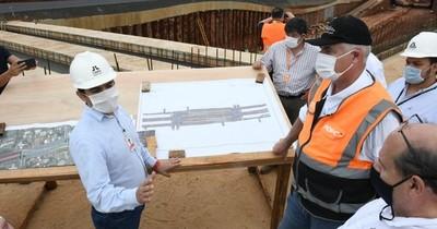 Segundo puente entre Paraguay y Brasil registra buen avance