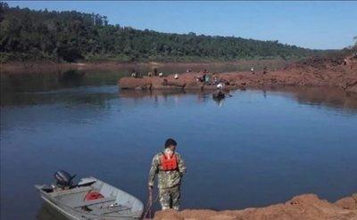 Menor fue a pescar en familia y fue arrastrado por la corriente del río Paraná