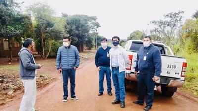 Descarada CAMPAÑA POLÍTICA de diputado colorado con OBRAS del Gobierno e Itaipú