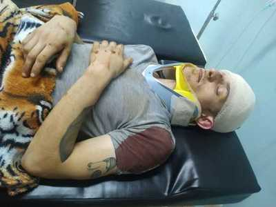 Venezolanos denuncian trato indigno a accidentado en Hospital del Trauma