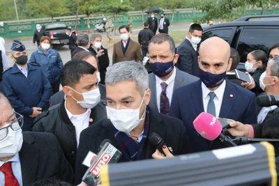 Mario Abdo adelanta que saldrá contra el pueblo y a favor de la ANDE