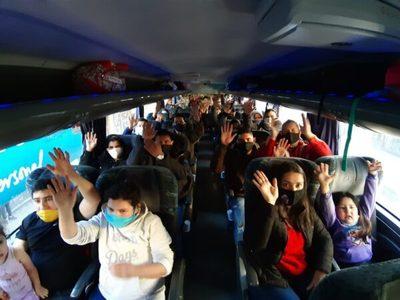 Paraguay superará los 8.000 repatriados esta semana