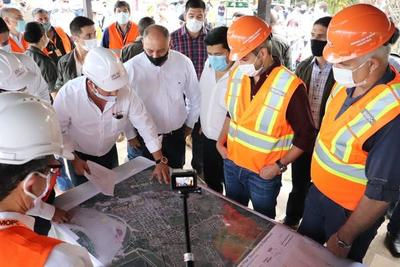 Obras de la Defensa Costera de Pilar iniciaron con tres meses de anticipación
