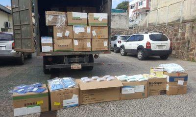 Paraguay recibe primera donación de insumos hospitalarios de China Popular