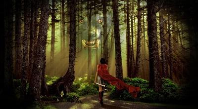 Caperucita Roja es un cuento de terror