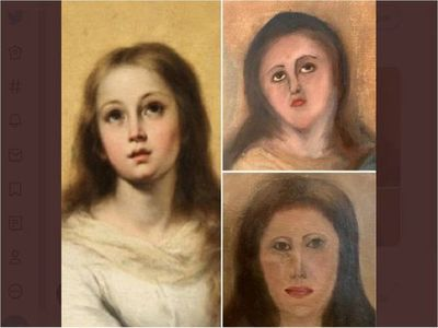 Nuevo escándalo por la restauración de un cuadro religioso