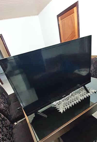 Recuperan televisor robado a punta de cuchillo a una anciana de 86 años.