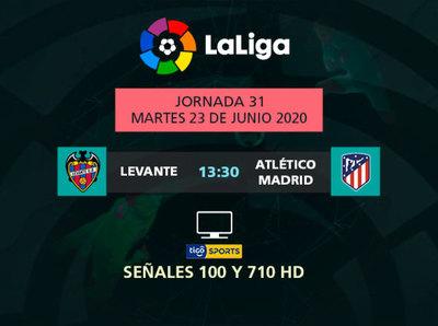 Atlético de Madrid quiere mantenerse en zona de Champions
