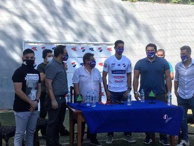 Nacional presenta al Topo Cáceres