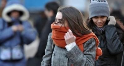Ingreso de frente frío traerá un brusco descenso de temperatura este jueves
