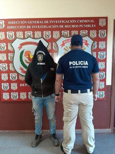 Detienen a prófugo tras una persecución