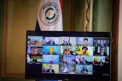 Presidente Abdo participó de encuentro virtual de presidentes de Latinoamérica y el Caribe