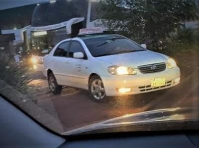Taxista esta plenamente identificado y SANCION depende del intendente PRIETO
