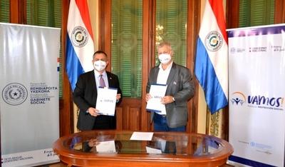 Municipio chaqueño firma acuerdo con el Gabinete Social