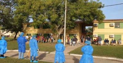 Militares con Covid-19 en Ayolas no tuvieron contacto con albergados según vocero