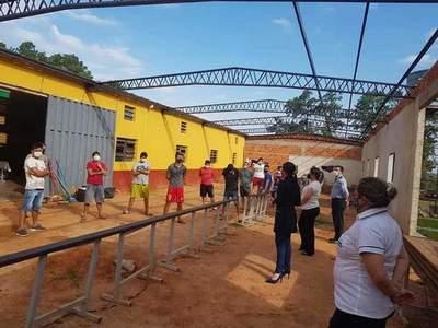 Informan 6 casos de Covid-19 en albergue de Coronel Oviedo – Prensa 5