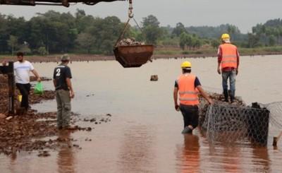 Construcción de la costanera de CDE tiene un avance del 47%
