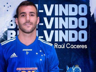 Raúl Cáceres, anunciado oficialmente en Brasil