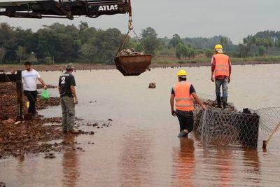 Obra de la costanera de CDE con 47% de avance
