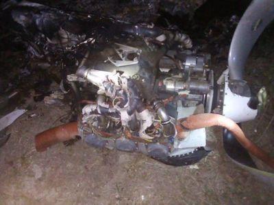 Avioneta que cayó  en Alto Paraguay fue robada en Brasil