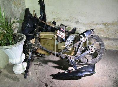 Recuperan dos motocicletas robadas en San Lorenzo