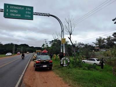 Trágico accidente en Areguá deja dos fallecidos y dos heridos de gravedad
