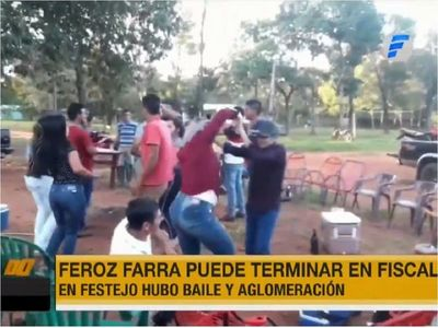 Festejo y aglomeración en Arroyito podría derivar en varias imputaciones