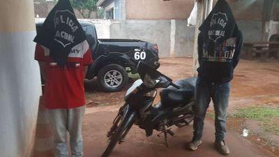 Sacaron de circulación a supuestos asaltantes en Pedro Juan Caballero