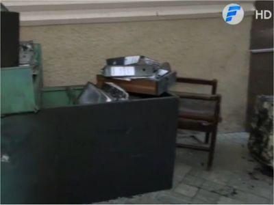 Incendio afectó una oficina de guardia del MUVH en Asunción