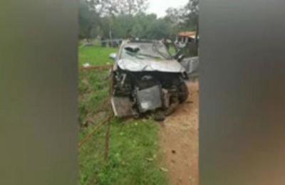 Accidente en Tarumandy: Sobrevivieron de milagro