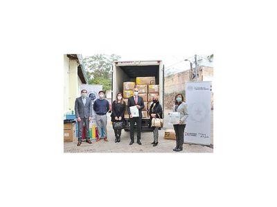 Pacto Global entrega a Salud  4.039 insumos de bioseguridad