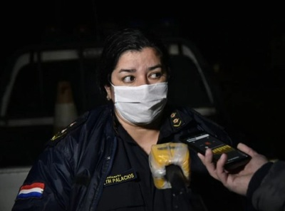 Agente policial resulta herido durante asalto a pizzería