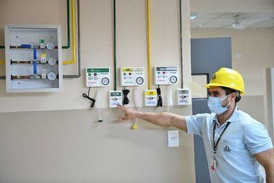 Ampliación en el Hospital de  Hernandarias, en etapa final