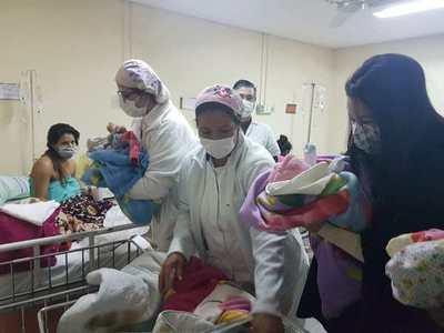 Nacen trillizas en el Hospital de Luque • Luque Noticias