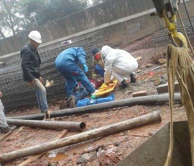 Obrero fallece en accidente laboral en Pedro Juan Caballero