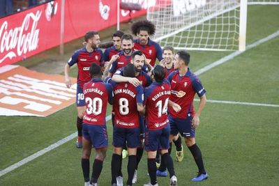 Agónica victoria de Osasuna